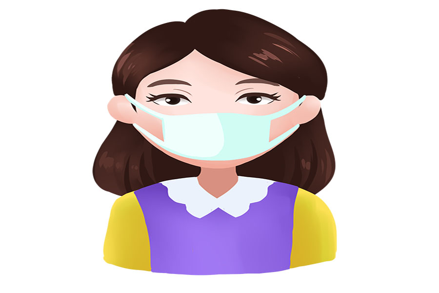 包图网_19455737预防感染病毒戴口罩插画.jpg