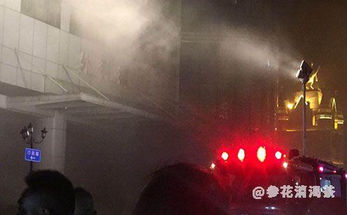 武汉协和医院外科楼凌晨突发火灾,暂无人员伤亡